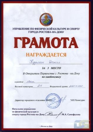 Кузьмин Данил