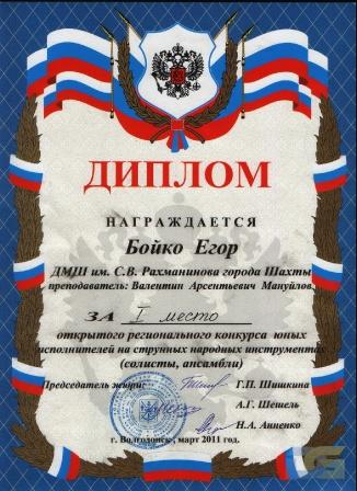 Бойко Егор